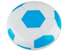 Zubehör - Kontaktlinsen-Etui Fußball - blau