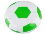 Kontaktlinsen-Etui Fußball - grün