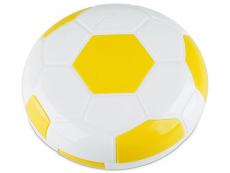 Behälter und Reise-Kits - Kontaktlinsen-Etui Fußball - gelb