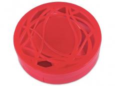 Behälter und Reise-Kits - Kontaktlinsen-Etui - Ornament rot