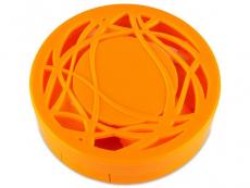 Behälter und Reise-Kits - Kontaktlinsen-Etui - Ornament orange