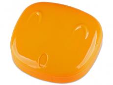 Zubehör - Kontaktlinsen-Etui Gesicht - orange