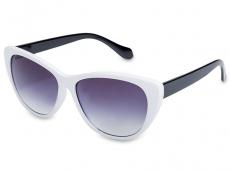 Sonnenbrillen Cat Eye - Sonnenbrille OutWear - Weiß / Schwarz