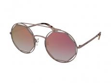 Sonnenbrillen Rund - Alexander McQueen MQ0176SA 003