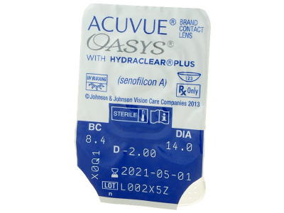 Acuvue Oasys (12Linsen) - Blister Vorschau