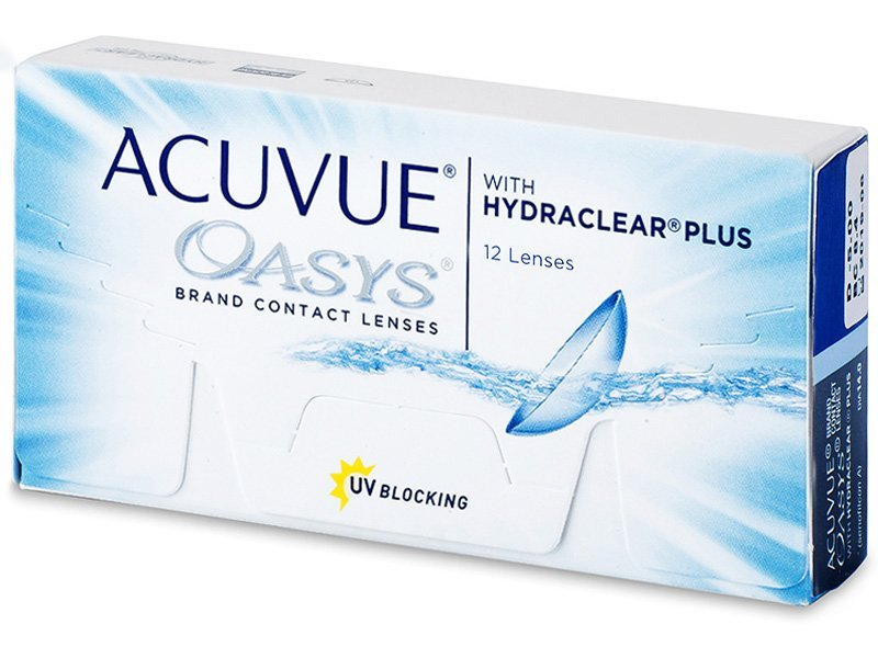 Acuvue Oasys (12 Linsen) -  2-Wochen-Kontaktlinsen - Johnson and Johnson