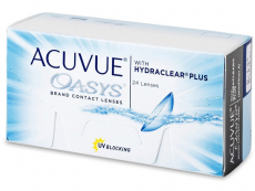 Kontaktlinsen Johnson and Johnson - Acuvue Oasys (24 Linsen)