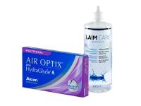Air Optix plus HydraGlyde Multifocal (6 Linsen) + Laim-Care 400 ml