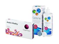 Avaira Vitality (6 Linsen) + Gelone 360 ml