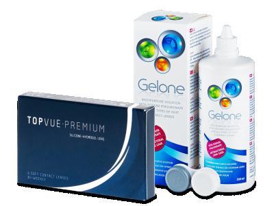 TopVue Premium (6Linsen) +Gelone360ml