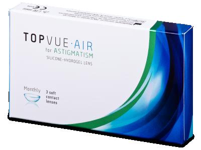TopVue Air for Astigmatism (3Linsen) - Torische Kontaktlinsen