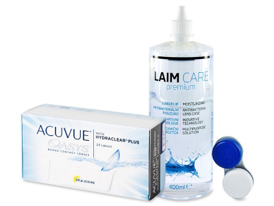 Acuvue Oasys (24 Linsen) + Laim Care 400 ml