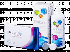 TopVue Air Multifocal (3Linsen) +Gelone 360 ml