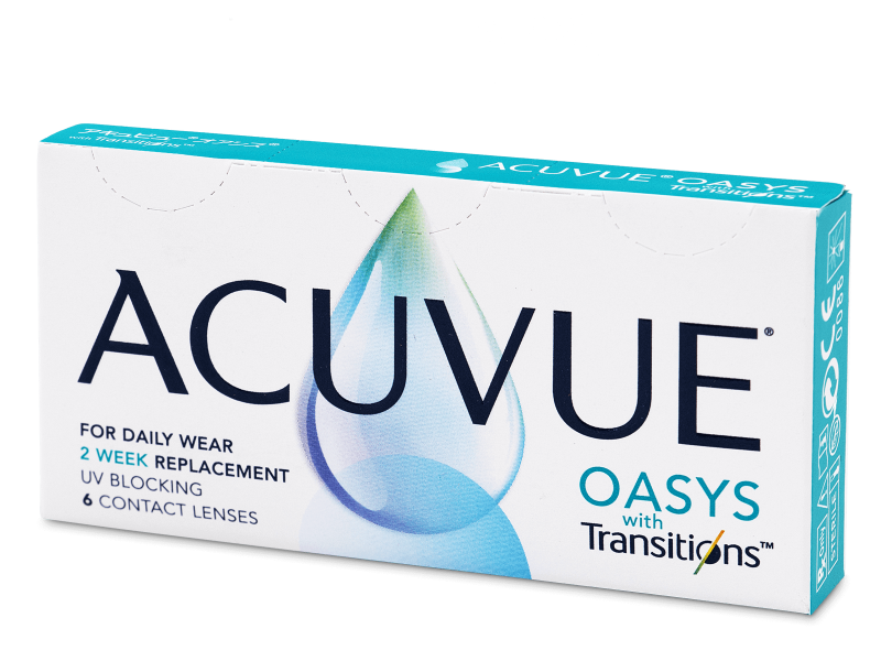 Acuvue Oasys with Transitions (6 Linsen) -  2-Wochen-Kontaktlinsen