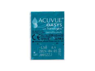 Acuvue Oasys with Transitions (6 Linsen)