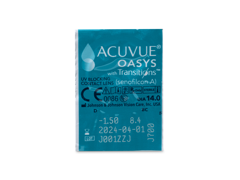 Acuvue Oasys with Transitions (6 Linsen) - Blister Vorschau