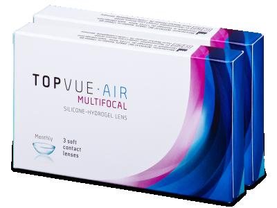 TopVue Air Multifocal (6 Linsen) - Multifokale Kontaktlinsen