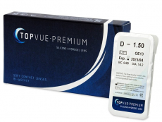 Kontaktlinsen TopVue - TopVue Premium (1 Linse)