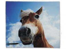Zubehör - Brillenputztuch - Pferd
