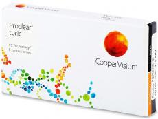 Kontaktlinsen CooperVision - Proclear Toric XR (6Linsen)