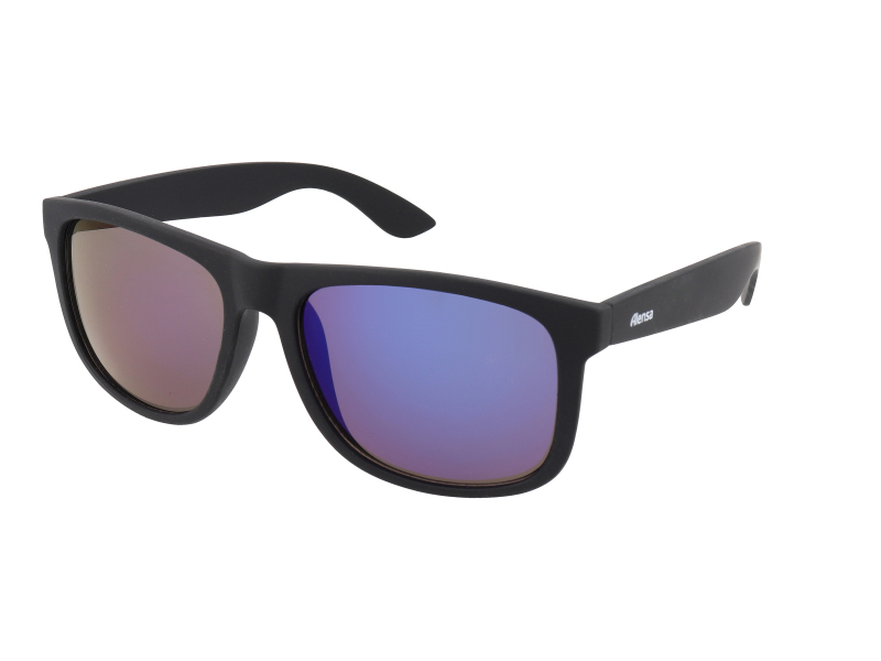 Sonnenbrillen Alensa Sport All Black Blue Mirror
