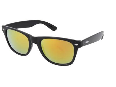 Sonnenbrillen Sonnenbrillen Alensa Sport Black Orange Mirror