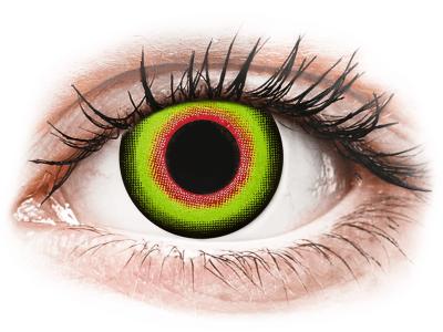 ColourVUE Crazy Lens - Mad Hatter - Tageslinsen ohne Stärke (2Linsen)