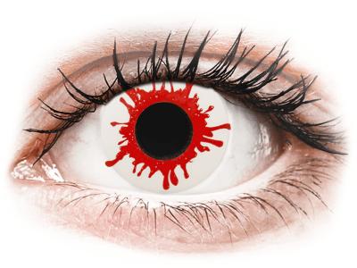 ColourVUE Crazy Lens - Wild Blood - Tageslinsen ohne Stärke (2Linsen)