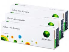 Kontaktlinsen CooperVision - MyDay Daily Disposable (90Linsen)