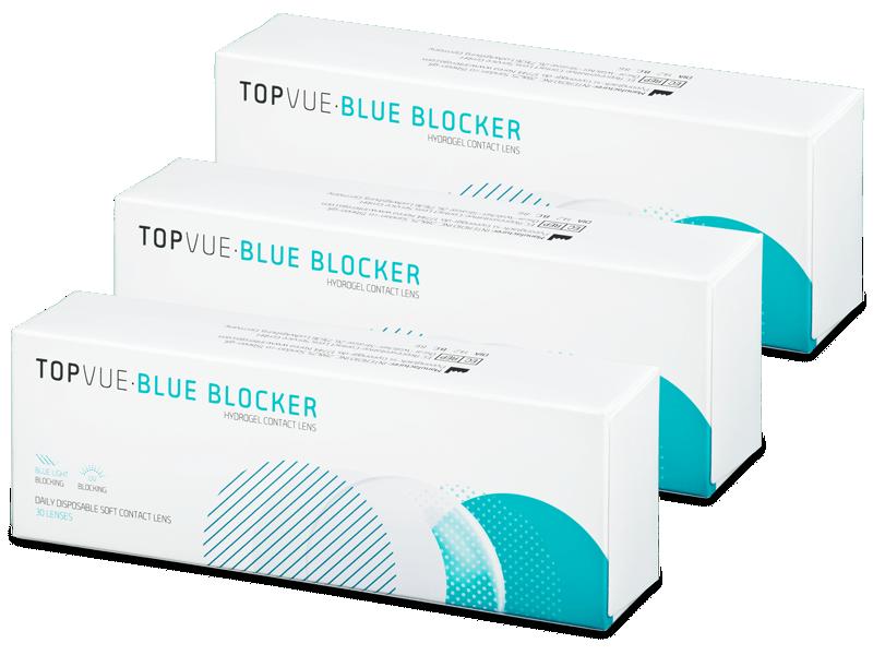 TopVue Blue Blocker (90 Linsen) - Tageslinsen