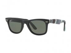 Sonnenbrillen Wayfarer - Sonnenbrille Ray-Ban Original Wayfarer RB2140 - 6066/58 POL
