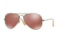 Männersonnenbrillen - Sonnenbrille Ray-Ban Original Aviator RB3025 - 167/2K