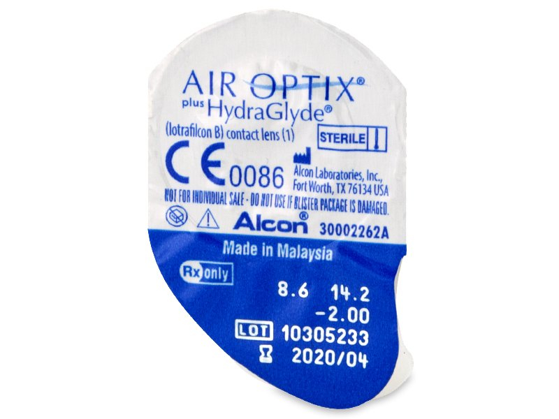 Air Optix plus HydraGlyde (3Linsen) - Blister Vorschau