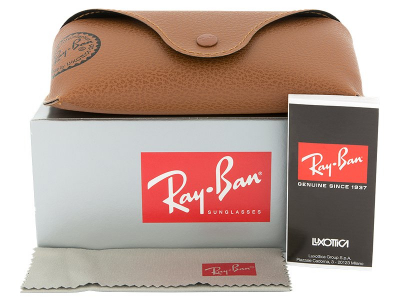 Sonnenbrillen Sonnenbrille Ray-Ban Justin RB4165 - 865/T5 POL  - Inhalt der Packung (Illustrationsbild)