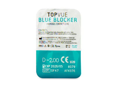 TopVue Blue Blocker (5Paare) - Blister Vorschau