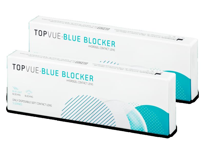 TopVue Blue Blocker (5Paare) - Tageslinsen