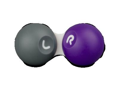 Grau-violetter Linsenbehälter SG
