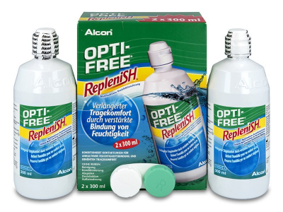 OPTI-FREE RepleniSH 2x300ml  - Älteres Design