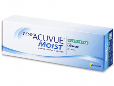 Multifokale Linsen - 1 Day Acuvue Moist Multifocal (30 Linsen)