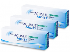 Multifokale Linsen - 1 Day Acuvue Moist Multifocal (90 Linsen)