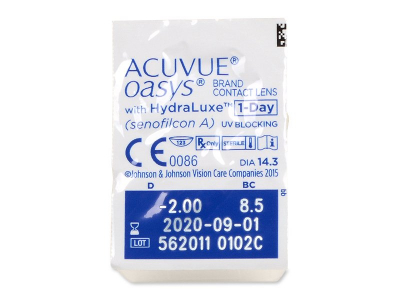 Acuvue Oasys 1-Day with Hydraluxe (30Linsen) - Blister Vorschau