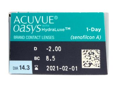 Acuvue Oasys 1-Day with Hydraluxe (30Linsen) - Vorschau