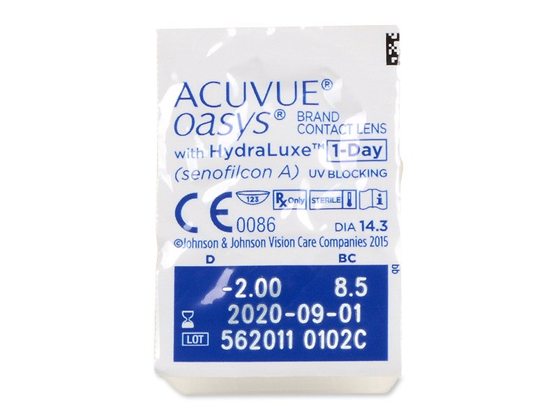 Acuvue Oasys 1-Day with Hydraluxe (90Linsen) - Blister Vorschau