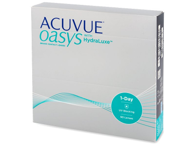 Acuvue Oasys 1-Day with Hydraluxe (90 Linsen)