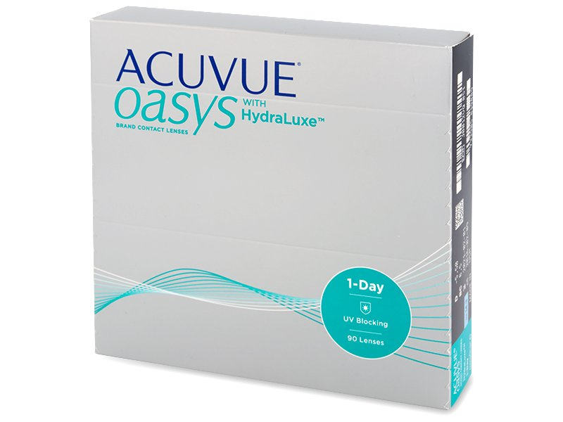 Acuvue Oasys 1-Day with Hydraluxe (90Linsen) - Tageslinsen