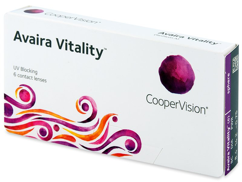 Avaira Vitality (6 Linsen) - Contact lenses - CooperVision