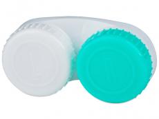 Behälter und Reise-Kits - Behälter grün-weiß mit L+R