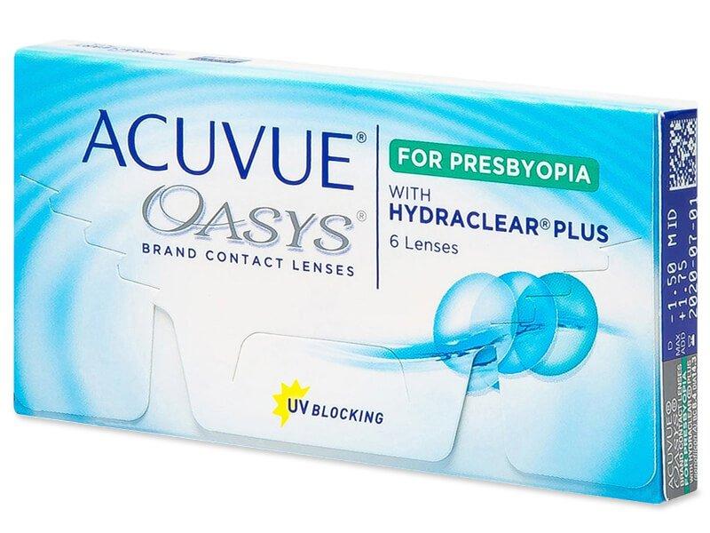 Acuvue Oasys for Presbyopia (6 Linsen) - Multifokale Kontaktlinsen