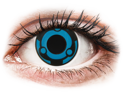 CRAZY LENS -  Vision - Tageslinsen ohne Stärke (2 Linsen)