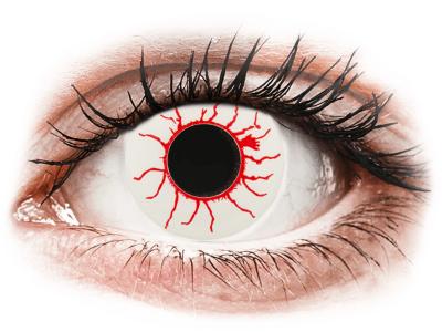 CRAZY LENS - Red Viper - Tageslinsen ohne Stärke (2 Linsen)